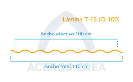 Esquema Lámina T-13 (O100)