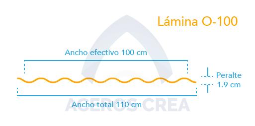Estructura lámina O-100