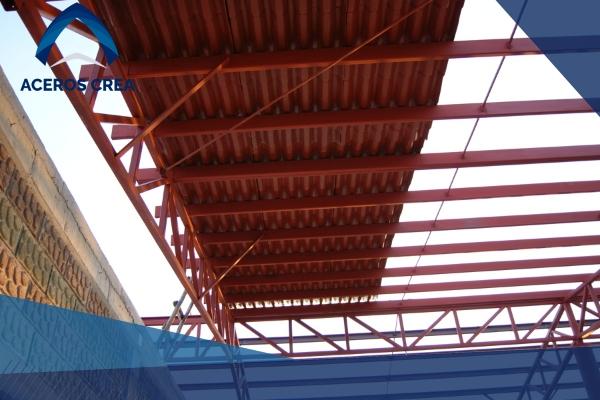 Estructura ligera lámina tipo teja